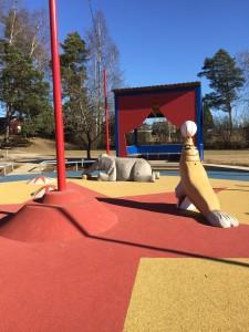 Cirkuslekparken vid Vallbygatan