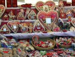 Alla hjärtans dag ( dekorativ bild på licitarhjärtan)