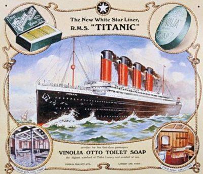 Reklam för Vinolia Otto Soap.