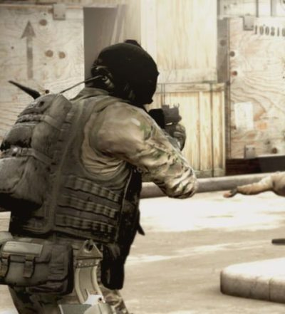 CS:GO screenshot (dekorativ bild av en av miljöerna/banorna i spelet)