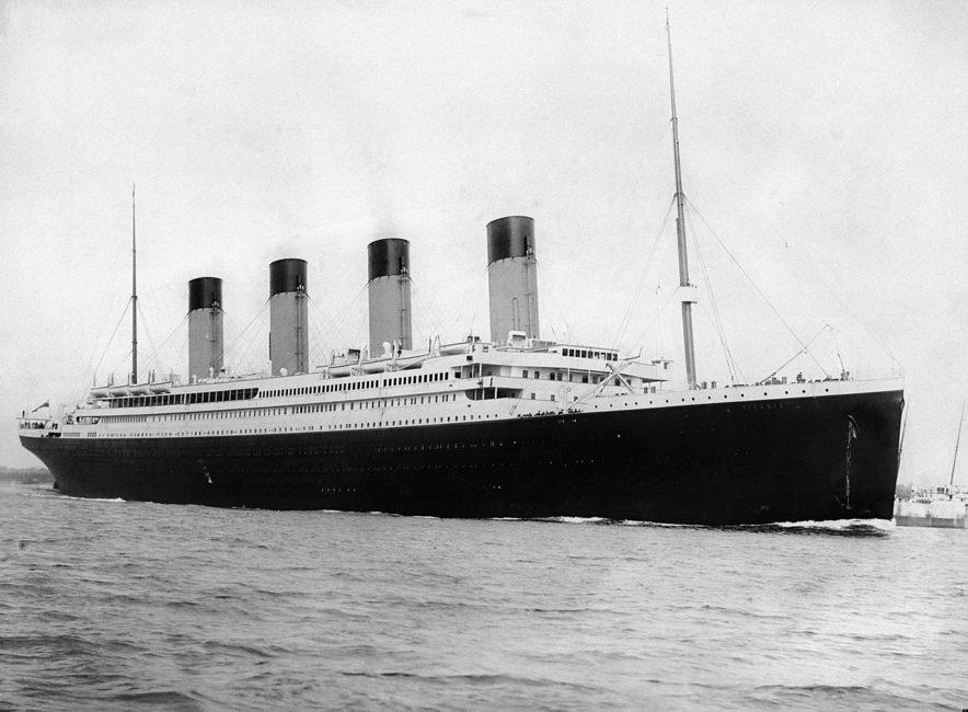 Titanic (dekorativ bild)