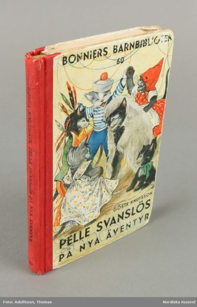 Foto av boken Pelle Svanslös på nya äventyr (dekorativ bild)